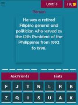 Philippine History Quiz截图