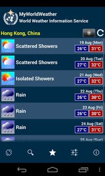 我的世界天气截图