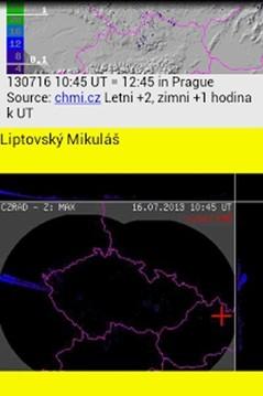 天气小部件捷克截图