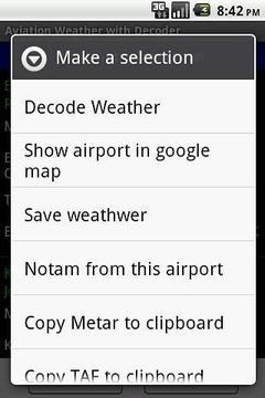 Aviation Weather with Decoder截图
