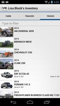 卡车手册截图