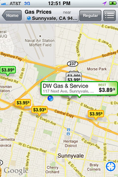 YP Yellow Pages  Gas Prices截图