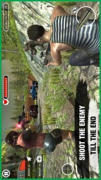 Free Fire Squad Survivor :Modern battleground 2k18截图