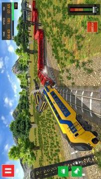 Euro Train Simulator   Train Games 2019截图