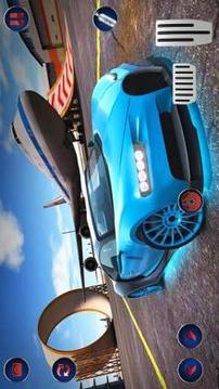 Racing Car Stunts On Impossible Tracks 2019截图