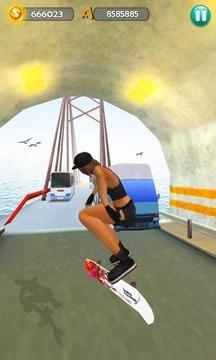 平衡板冲浪3D - Hoverboard Surfers截图