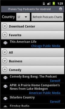 iPP Podcast Player截图