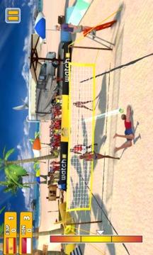 沙滩排球3D截图