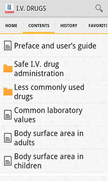 静脉注射药物手册截图