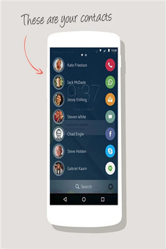drupe – Contacts. Your way.截图