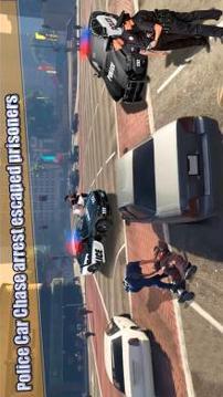 Police Car Gangster Chase Mission 2019截图