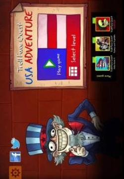 Troll Face Quest USA Adventure截图