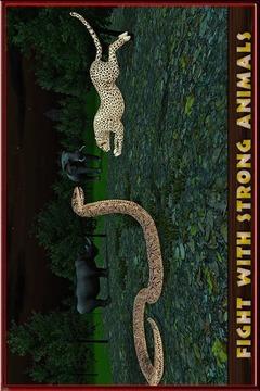 愤怒的蟒蛇模拟器2016年截图