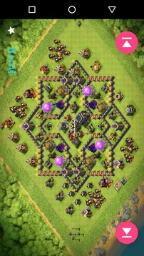 Maps of Coc TH9截图