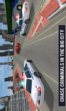 警察车歹徒逃脱模拟截图