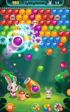 兔子泡泡龙截图