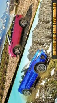 Offroad Hill Climb Rover Driving: Convertible Car截图