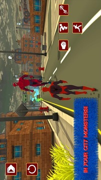 Spiderweb Hero: New Battle截图