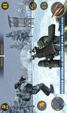 狙击手冬日吃鸡枪战无截图