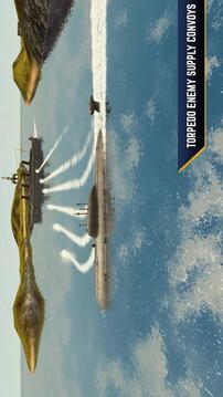 敌方水域:潜艇与战舰截图