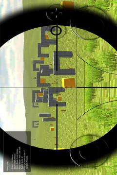 荒野行动狙击训练场截图