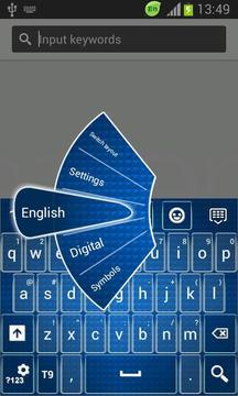 Keyboard for  Galaxy Ace截图