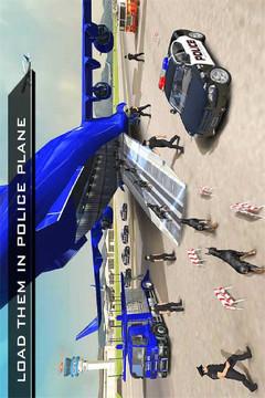 美国警察机器人狗-警察飞机运输游戏截图