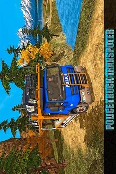 越野警察卡车运输截图