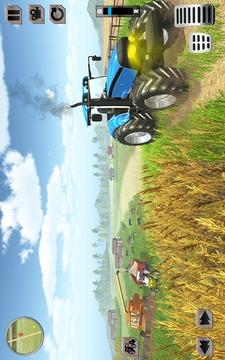 农用拖拉机模拟驾驶截图