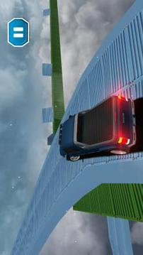 不可能的停车轨道:豪华汽车驾驶特技截图