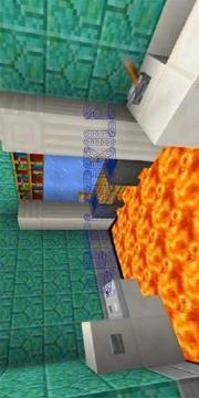Floor Is Lava Map for MCPE Addon截图