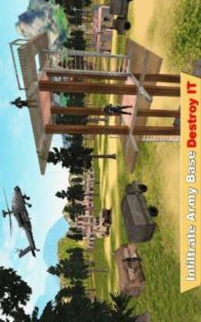Commando Cover Officer - Modern Jungle Guns Strike截图