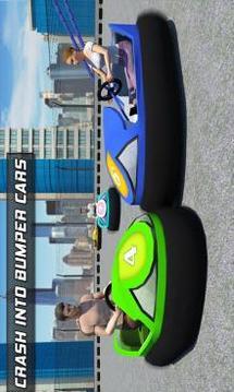 保险杠车碰撞赛车狂热 - 拆除德比3D截图