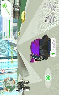 Superhero Fly Panda截图