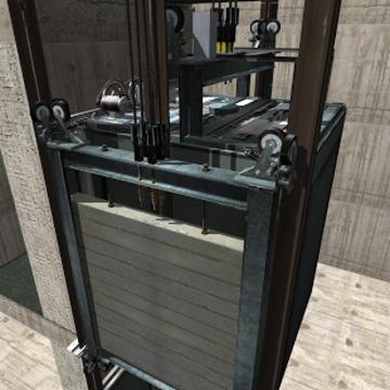 3D模拟电梯截图
