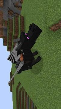 Black fire Dragon Mod for MCPE截图
