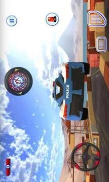 Police Car Drift Simulator Car Stunt Drive截图