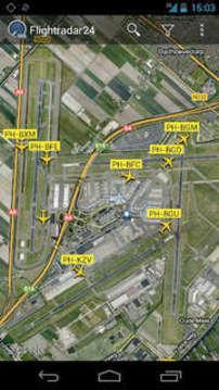 Flightradar24全球航班雷达截图