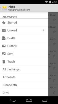 电子邮件截图