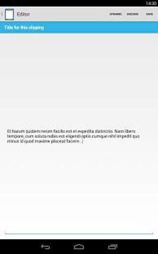 剪贴板增强工具 Clipper Plus截图