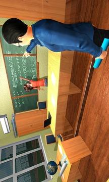 幼儿园模拟器:孩子们学习教育游戏截图