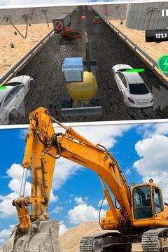 模拟驾驶挖掘机3D截图