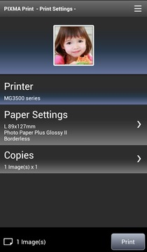 PIXMA Print截图