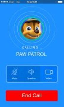 Call from paw chase patrol截图