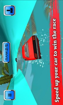 Water Slide Car Race and Stunts : Waterpark Race截图