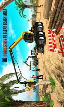 Beach House Builder Construction Games 2019截图