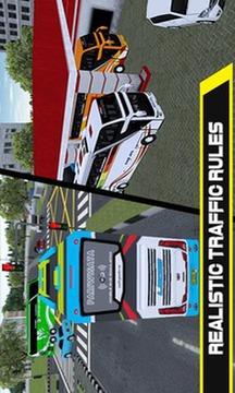 移动巴士模拟器截图