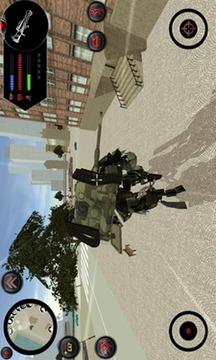 Urban War Robot Tank截图