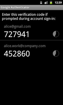 Google身份验证器 Google Authenticator截图