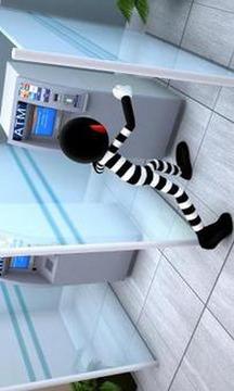 火柴人抢银行截图